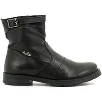 Schuhe Kinder Boots Lulu LL1000019L Schwarz
