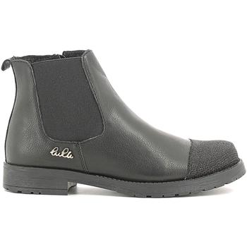 Schuhe Kinder Boots Lulu LL100022L Schwarz