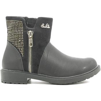 Schuhe Kinder Boots Lulu LL110016S Schwarz