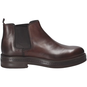 Schuhe Herren Boots Rogers 456_2 Braun