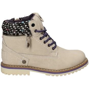 Schuhe Kinder Boots Wrangler WG17230 Beige