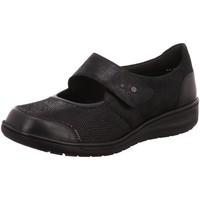 Schuhe Damen Ballerinas Solidus Slipper Kate 29503-00467 schwarz