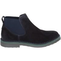 Schuhe Herren Boots Rogers 20078 Blau