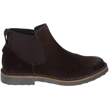 Schuhe Herren Boots Rogers 20078 Braun