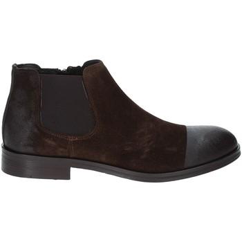 Schuhe Herren Boots Exton 5357 Braun