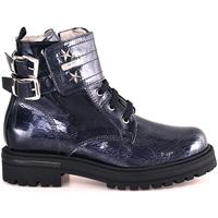 Schuhe Kinder Boots Balducci LEGER906 Blau