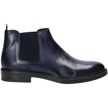 Schuhe Herren Boots Rogers 1104_4 Blau