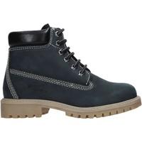 Schuhe Kinder Boots Valleverde 36803 Blau