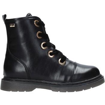 Schuhe Kinder Boots Valleverde 10243 Schwarz