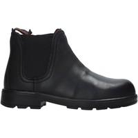 Schuhe Kinder Boots Valleverde 36830 Schwarz
