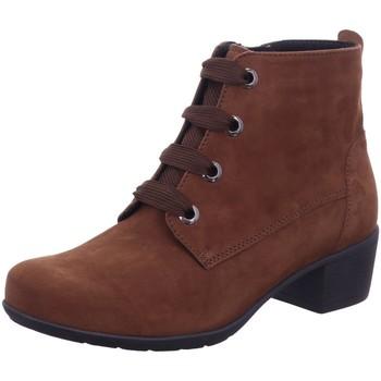 Schuhe Damen Boots Solidus Stiefeletten Kerry 35019 30350 35019 30350 braun
