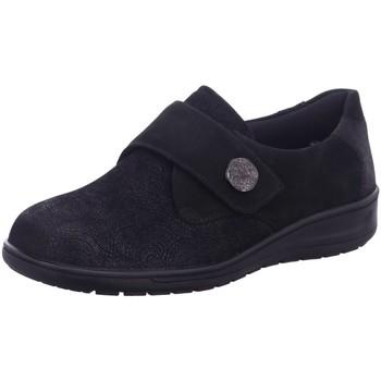 Schuhe Damen Slipper Solidus Slipper Kate 29506-00584 K Glam schwarz