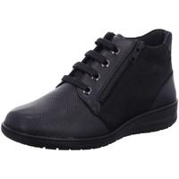 Schuhe Damen Boots Solidus Schnuerschuhe Kate  Stretch 29512-90202 K argento grau