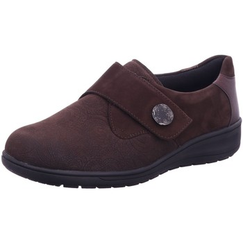Schuhe Damen Slipper Solidus Slipper Kaffee 7-29506 50044 braun