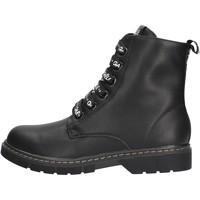 Schuhe Mädchen Boots GaËlle Paris - Anfibio nero G-450 NERO