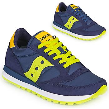 Schuhe Sneaker Low Saucony JAZZ ORIGINAL Blau / Gelb