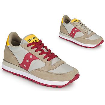 Schuhe Damen Sneaker Low Saucony JAZZ ORIGINAL Beige / Rot