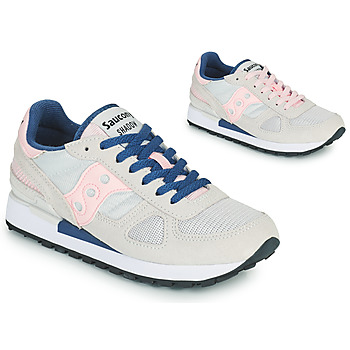 Schuhe Damen Sneaker Low Saucony SHADOW ORIGINAL Grau / Rose / Blau