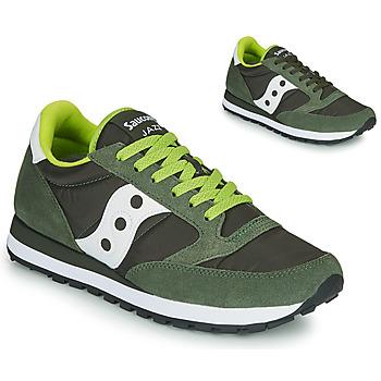 Schuhe Herren Sneaker Low Saucony JAZZ ORIGINAL Grau / Kaki