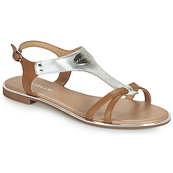 Schuhe Damen Sandalen / Sandaletten Adige ANNABELLE V4 SPECCHIO SILVER Silbern