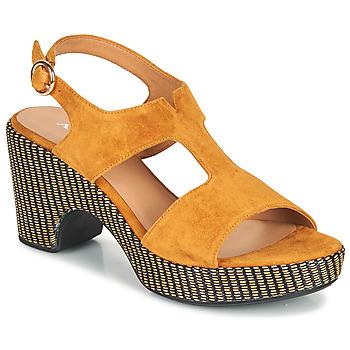 Schuhe Damen Sandalen / Sandaletten Adige ROMA V7 UNER SAFRAN Braun