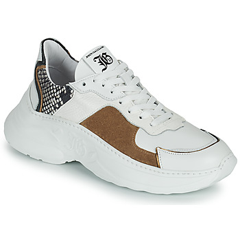 Schuhe Damen Sneaker Low John Galliano MISTEY Weiss