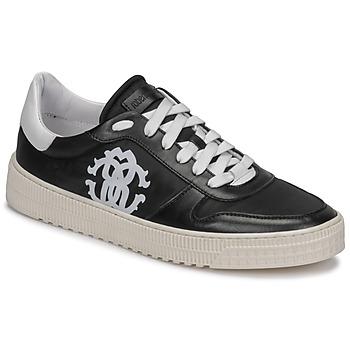 Schuhe Herren Sneaker Low Roberto Cavalli GEL Schwarz
