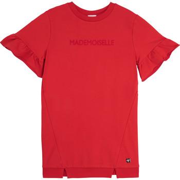 Kleidung Mädchen Kurze Kleider Carrément Beau Y12234-992 Rot