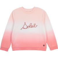 Kleidung Mädchen Sweatshirts Carrément Beau Y15373-N44 Weiss / Rose