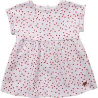 Kleidung Mädchen Kurze Kleider Carrément Beau Y92119-10B Weiss