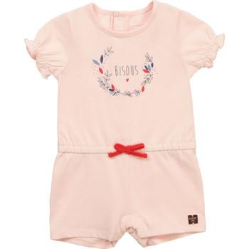 Kleidung Mädchen Overalls / Latzhosen Carrément Beau Y94234-44L Rose