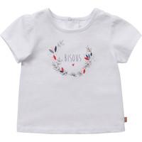 Kleidung Mädchen T-Shirts Carrément Beau Y95270-10B Weiss