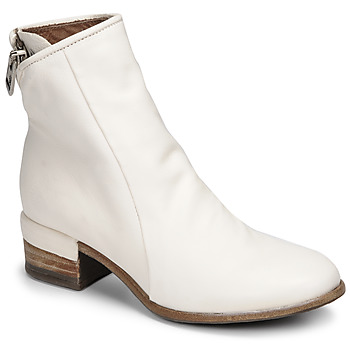 Schuhe Damen Low Boots Airstep / A.S.98 GIVE ZIP Weiss