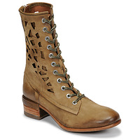 Schuhe Damen Boots Airstep / A.S.98 GIVE HIGH Kaki