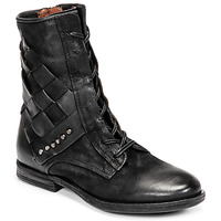 Schuhe Damen Boots Airstep / A.S.98 ZEPORT TRESSE Schwarz