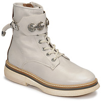 Schuhe Damen Boots Airstep / A.S.98 IDLE Weiss