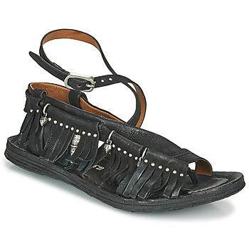 Schuhe Damen Sandalen / Sandaletten Airstep / A.S.98 RAMOS FRANGE Schwarz