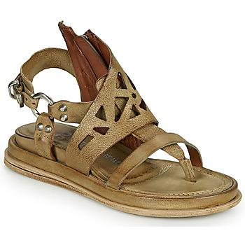 Schuhe Damen Sandalen / Sandaletten Airstep / A.S.98 POLA GRAPH Kaki