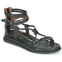 Schuhe Damen Sandalen / Sandaletten Airstep / A.S.98 POLA SQUARE Schwarz