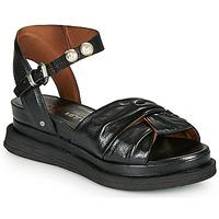 Schuhe Damen Sandalen / Sandaletten Airstep / A.S.98 LAGOS NODE Schwarz
