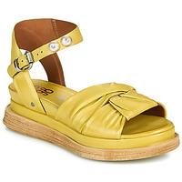 Schuhe Damen Sandalen / Sandaletten Airstep / A.S.98 LAGOS NODE Gelb