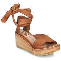 Schuhe Damen Sandalen / Sandaletten Airstep / A.S.98 NOA LACE Camel