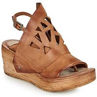 Schuhe Damen Sandalen / Sandaletten Airstep / A.S.98 NOA GRAPH Camel