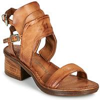 Schuhe Damen Sandalen / Sandaletten Airstep / A.S.98 KENYA BUCKLE Camel