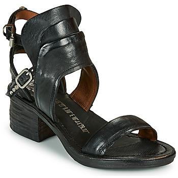 Schuhe Damen Sandalen / Sandaletten Airstep / A.S.98 KENYA BUCKLE Schwarz