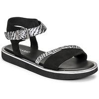 Schuhe Damen Sandalen / Sandaletten Regard ANGERS Schwarz