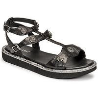 Schuhe Damen Sandalen / Sandaletten Regard ANGLET Schwarz