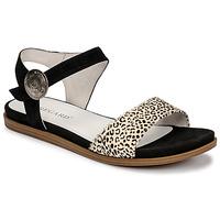 Schuhe Damen Sandalen / Sandaletten Regard BERRY Schwarz
