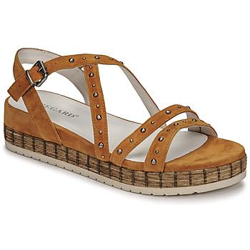 Schuhe Damen Sandalen / Sandaletten Regard CLAIRAC Braun