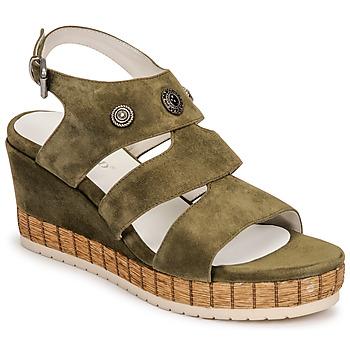 Schuhe Damen Sandalen / Sandaletten Regard DOLLIS Kaki